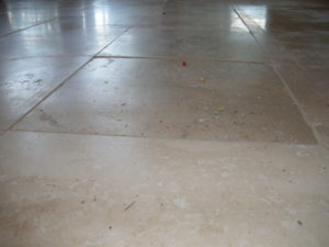 travertine lippage from poor installaation