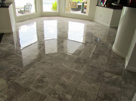 High Gloss Marble Foyer