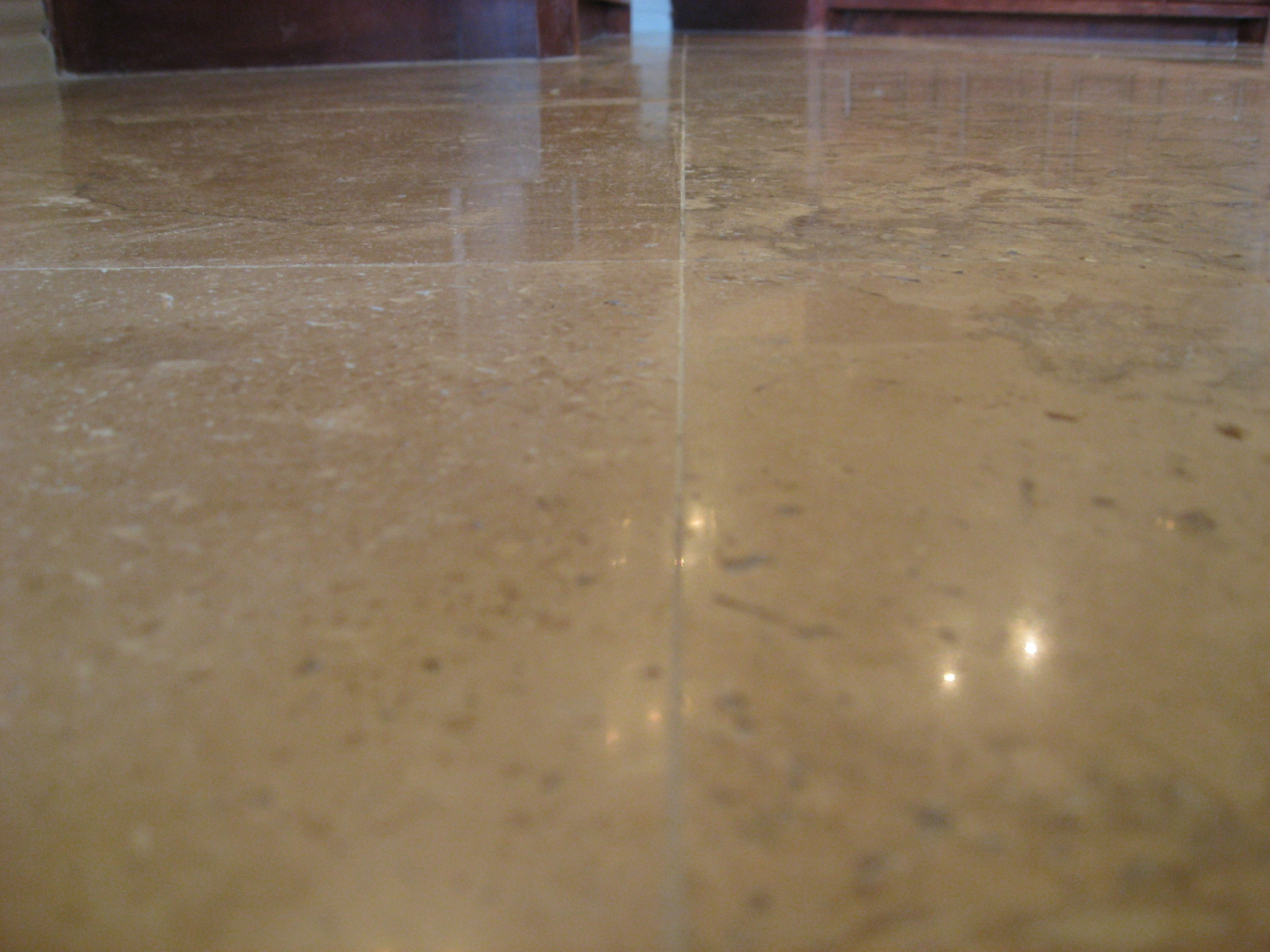 travertine lippage removal