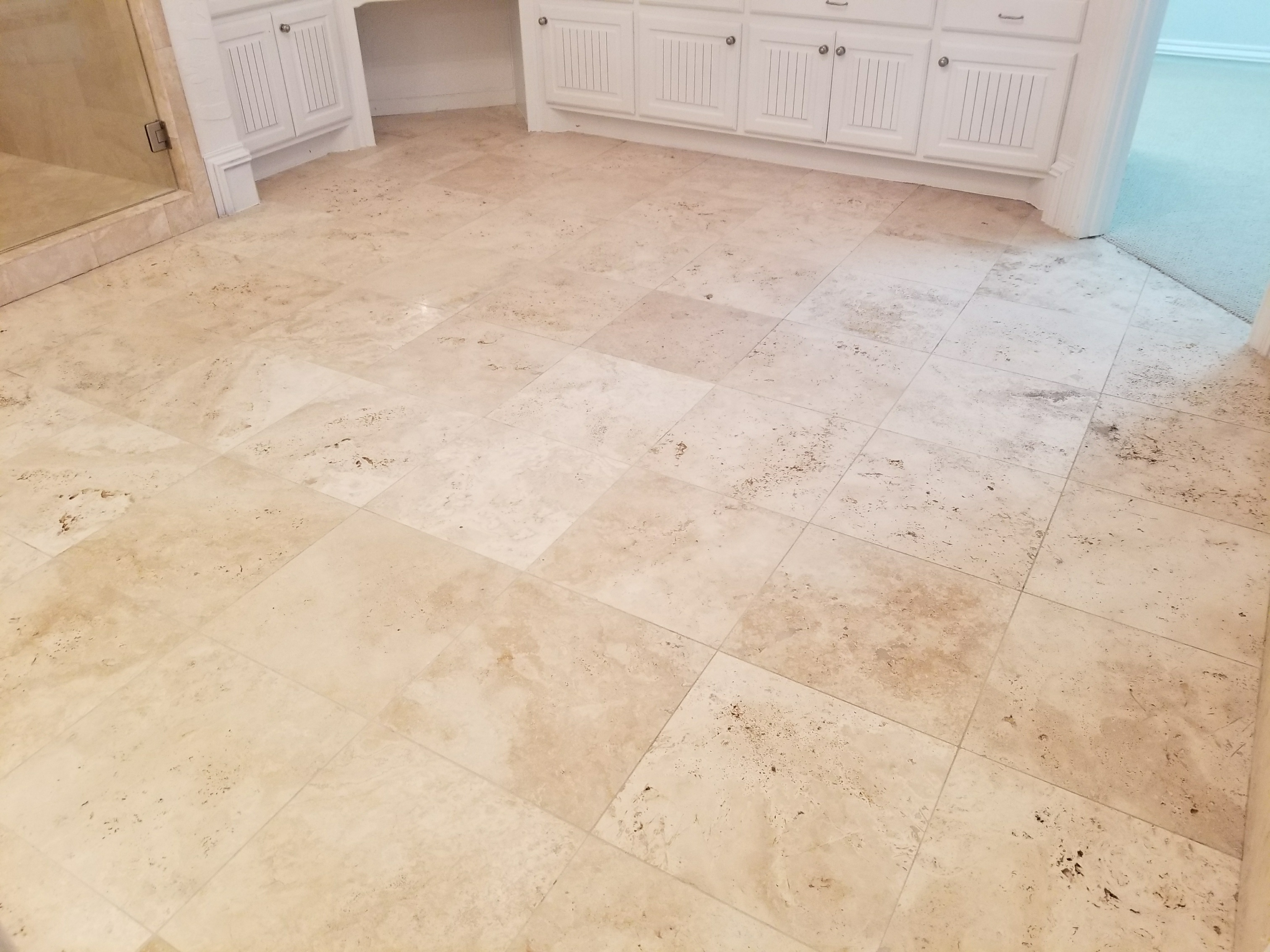Travertine Tile Floor Cleaning Sealing Frisco