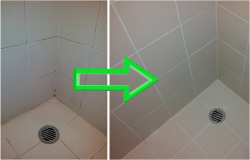 shower regrout Dallas TX