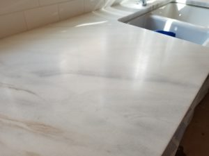 High Honing Marble Vanity. High Honed Marble Countertop