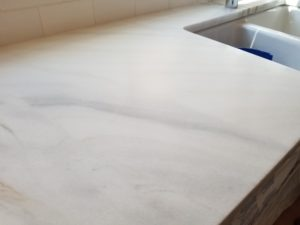 honing marble countertop