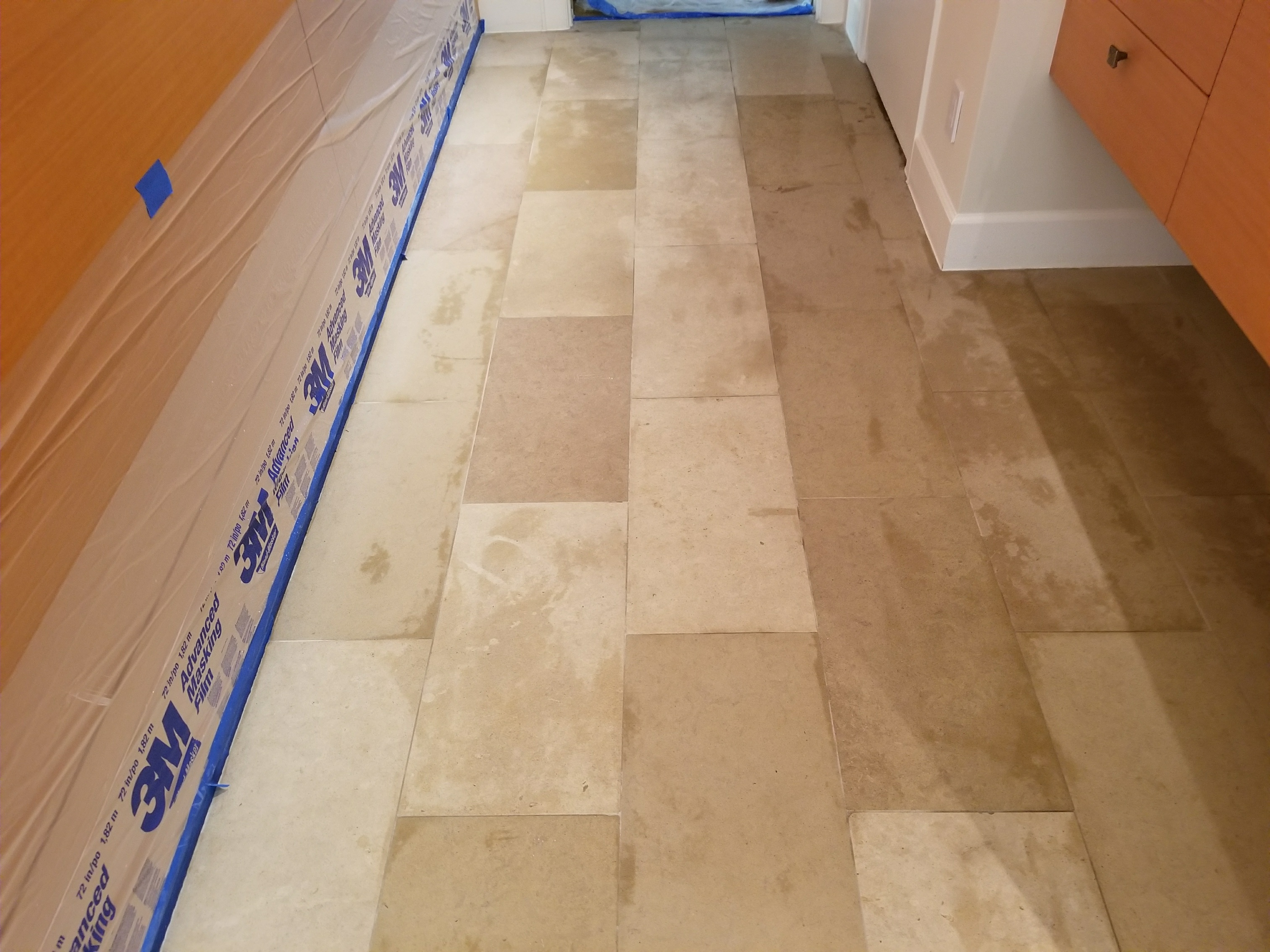 Cleaning And Sealing Limestone Floors Dallas